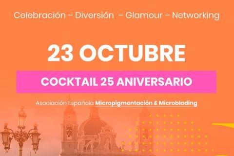 COCKTAIL JORNADAS HISPANOAMERICANAS MICROPIGMENTACIÓN Y MICROBLADING