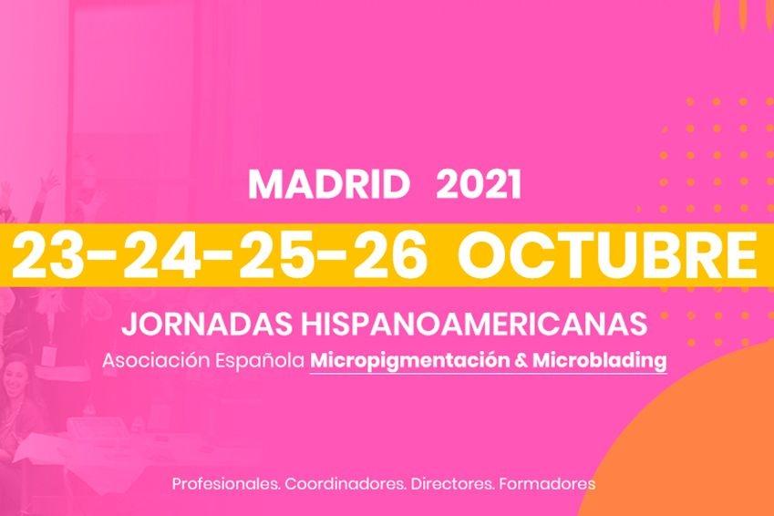 Jornadas Hispanoamericanas  Micropigmentación y Microblading